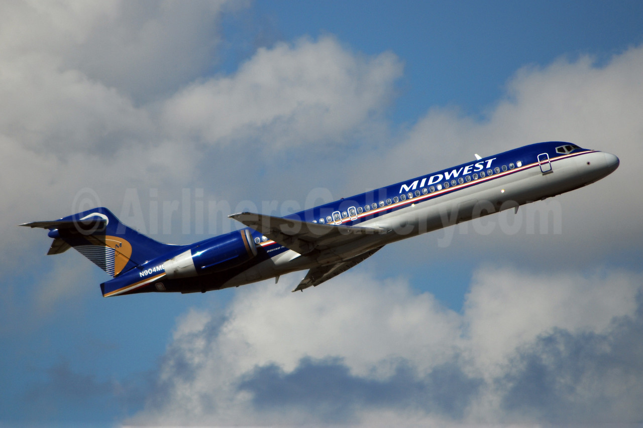 Midwest Airlines (USA) Boeing 717-2BL N904ME (msn 55168) FLL (Bruce Drum). Image: 100275.
