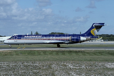Midwest Airlines (USA) Boeing 717-2BL N918ME (msn 55180) FLL (Christian Volpati Collection). Image: 943476.