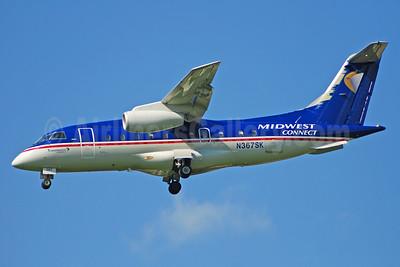 Midwest Connect - Skyway Airlines Fairchild-Dornier 328-300 (328JET) N360SK (msn 3136) MKE (Bruce Drum). Image: 104273.