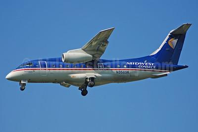 Midwest Connect - Skyway Airlines Fairchild-Dornier 328-300 (328JET) N358SK (msn 3188) MKE (Bruce Drum). Image: 100511.