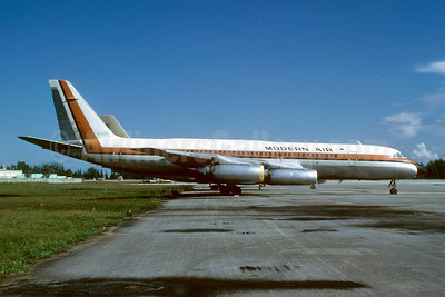 Modern Air Transport Convair 990-30A-5 N5601 (msn 33) OPF (Bruce Drum). Image: 102610.
