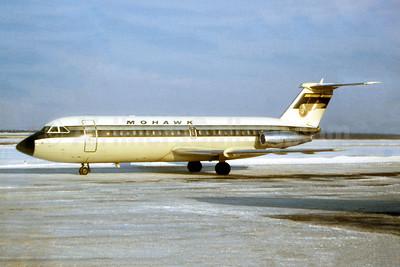 Mohawk Airlines (1st) BAC 1-11 204AF N1127J (msn 180) ALB (Ron Monroe). Image: 947746.