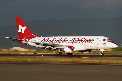 "Airline Color Scheme - Introduced 2008 - ""The Spirit of Oahu"""