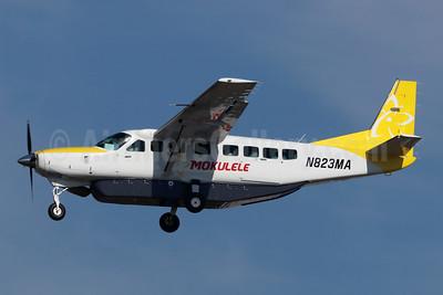 Mokulele Airlines Cessna 208B Grand Caravan N823MA (msn 5470) LAX (Michael B. Ing). Image: 945683.