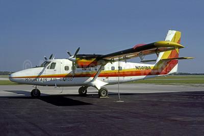 Mountain Air Cargo de Havilland Canada DHC-6-200 Twin Otter N501BA (msn 132) FMY (Nigel P. Chalcraft - Bruce Drum Collection). Image: 951267.
