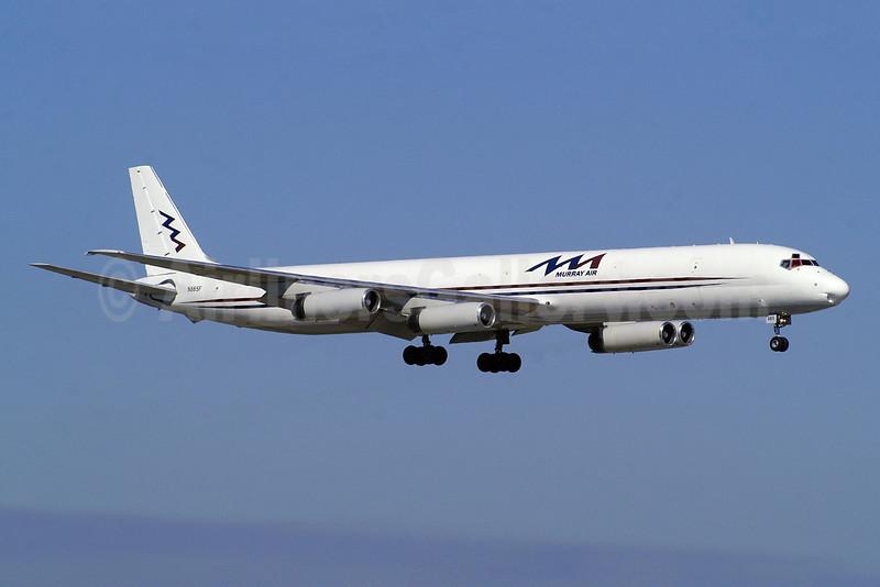 Murray Air McDonnell Douglas DC-8-63CF N865F (msn 46088) FLL (Wade DeNero). Image: 905328.