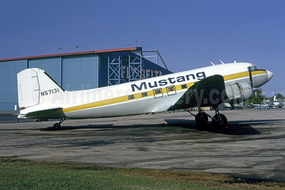 Mustang Airlines Douglas C-47A-DL (DC-3) N57131 (msn 19040) DAL (Ted J. Gibson - Bruce Drum Collection). Image: 953589.