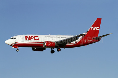 NAC-Northern Air Cargo Boeing 737-301 (SF) N360WA (msn 23553) (Teamwork That Delivers!) SAN (James Helbock). Image: 907950.