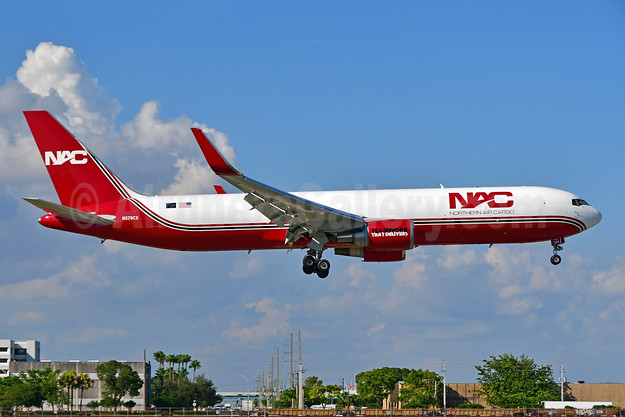 NAC's first Boeing 767, ex N372AA, delivered February 7, 2018