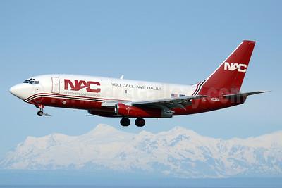 NAC-Northern Air Cargo Boeing 737-232 (F) N321DL (msn 23093) ANC (TMK Photography). Image: 911691.