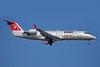 NWA Airlink-Pinnacle Airlines Bombardier CRJ200 (CL-600-2B19) N8908D (msn 7908) SDF (Bruce Drum). Image: 100348.