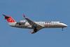 NWA Airlink-Pinnacle Airlines Bombardier CRJ440 (CL-600-2B19) N8808H (msn 7808) MSP (Bruce Drum). Image: 101158.