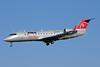 NWA Airlink-Pinnacle Airlines Bombardier CRJ440 (CL-600-2B19) N834AY (msn 8034) MSP (Bruce Drum). Image: 103251.