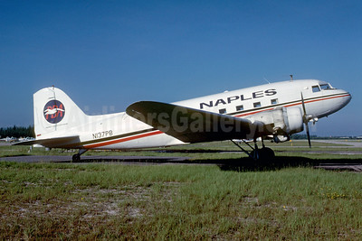 Naples Airlines-PBA Douglas C-52B (DC-3A) N137PB (msn 4128) APF (Bruce Drum). Image: 103027.