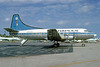 Naples Airlines-PBA Martin 404 N40425 (msn 14131) (Southeast Airlines colors) MIA (Bruce Drum). Image: 102731.