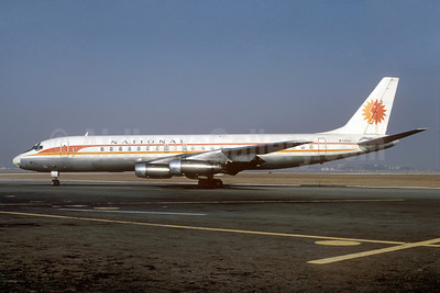 National Airlines (1st) McDonnell Douglas DC-8-32 N7184C (msn 45606) TPA (Bruce Drum). Image: 101926.
