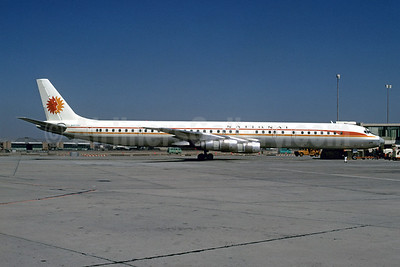 National Airlines (1st) McDonnell Douglas DC-8-61 N45090 (msn 45641) JFK (Bruce Drum). Image: 102290.