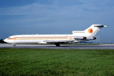 National Airlines (1st) Boeing 727-235 N4733 (msn 19453) MIA (Al Rodriguez - Fernandez Imaging Collection). Image: 945140.