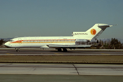 National Airlines (1st) Boeing 727-51 N5608 (msn 18805) LAX (Ron Monroe). Image: 945142.