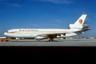 National Airlines (1st) McDonnell Douglas DC-10-10 N68NA (msn 46710) MIA (Bruce Drum). Image: 102287.