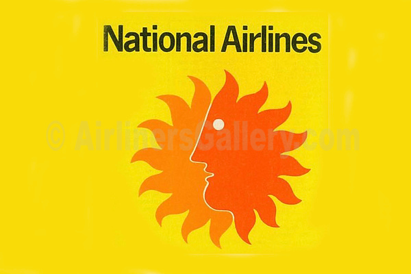 1. National Airlines (1st) logo