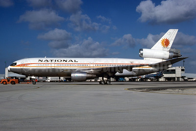 National Airlines (1st) McDonnell Douglas DC-10-30 N83NA (msn 46714) MIA (Bruce Drum). Image: 102288.