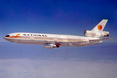 "N60NA ""Barbara"", National's first DC-10, delivered November 1, 1971"