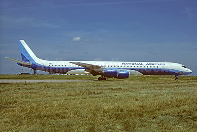 National Airlines (2nd) McDonnell Douglas DC-8-71 N917R (msn 46099) (Overseas National Airlines 2nd colors) ORY (Jacques Guillem). Image: 930347.