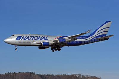 National Airlines (5th) Boeing 747-428 (F) N952CA (msn 25238) ZRH (Rolf Wallner). Image: 949225.