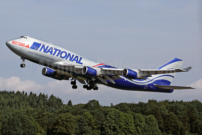 National Airlines (5th) - Navitrans Boeing 747-428 (F) N919CA (msn 25302) HHN (Rainer Bexten). Image: 939086.