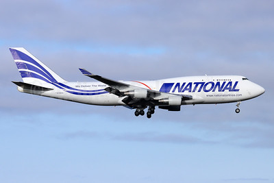 National Airlines (5th) Boeing 747-412 (F) N756CA (msn 26547) ANC (Michael B. Ing). Image: 951699.