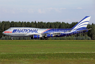 National Airlines (5th) - Navitrans Boeing 747-428 (F) N919CA (msn 25302) HHN (Rainer Bexten). Image: 939085.