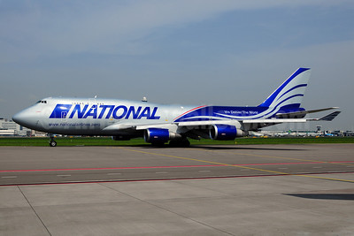 National Airlines (5th) Boeing 747-428 (BCF) N949CA (msn 35630) AMS (Ton Jochems). Image: 908372.