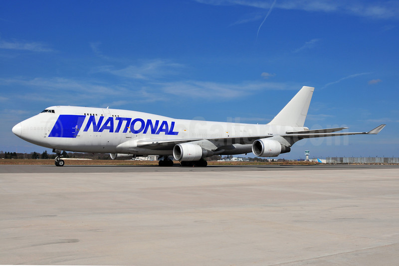 National Airlines (5th) (Air Atlanta Icelandic) Boeing 747-428 (BCF) TF-NAC (msn 25238) LUX (Ton Jochems). Image: 906153.
