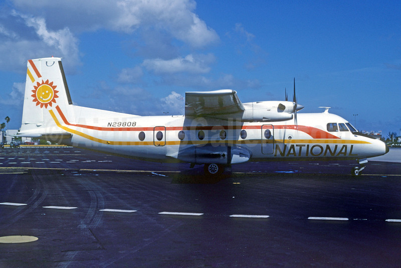 National Commuter Airlines Mohawk 298 (Nord 262A) N29808 (msn 29) MIA (Bruce Drum). Image: 102737.