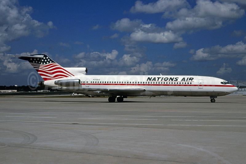 Nations Air Express Boeing 727-251 N258US (msn 19977) (Bruce Drum Collection). Image: 920583.