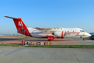 "Neptune Aviation Services BAe 146-200 Air Tanker N471NA (msn E2136) ""41"" SBD (Michael B. Ing). Image: 933537."