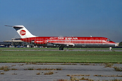 Continental's New York Air (New York Air) McDonnell Douglas DC-9-32 N3505T (msn 45788) LGA (Fred Freketic). Image: 953633.