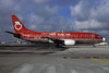 Continental's New York Air (New York Air) Boeing 737-3T0 N16310 (msn 23361) MIA (Bruce Drum). Image: 102867.