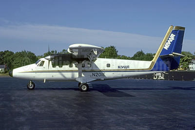 NewAir de Havilland Canada DHC-6-200 Twin Otter N201E (msn 126) HVN (Bruce Drum). Image: 105170.