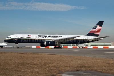 North American Airlines Boeing 757-28A N755NA (msn 30043) JFK (Fred Freketic). Image: 949721.