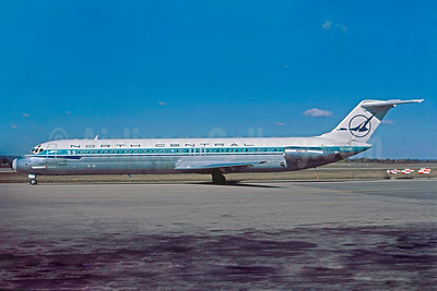 North Central Airlines McDonnell Douglas DC-9-51 N761NC (msn 47709) LSE (Nigel P. Chalcraft). Image: 911919.