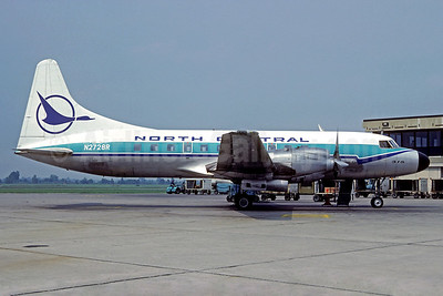 North Central Airlines Convair 580 N2728R (msn 67) (Christian Volpati Collection). Image: 931422.