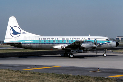 North Central Airlines Convair 580 N4634S (msn 176) (Fernandez Imaging Collection). Image: 938390.