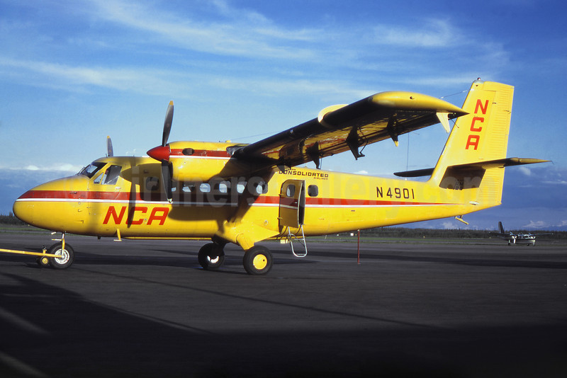 Northern Consolidated Airlines-NCA de Havilland Canada DHC-6-100 Twin Otter N4901 (msn 3) (Jacques Guillem Collection). Image: 922280.