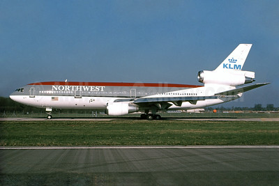 The Northwest-KLM 1998 joint livery