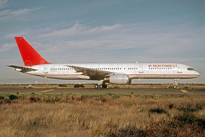 Northwest Airlines Boeing 757-2S7 N603RC (msn 23323) (Republic Airlines colors) SFO (Thomas Livesey). Image: 922037.