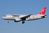 Northwest Airlines-NWA Airbus A319-114 N334NB (msn 1659) MSP (Bruce Drum). Image: 103244.