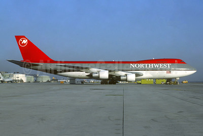 Northwest Airlines Boeing 747-151 N603US (msn 19780) FRA (Christian Volpati Collection). Image: 941592.