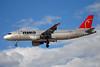 Northwest Airlines-NWA Airbus A320-211 N347NW (msn 272) LAS (Bruce Drum). Image: 100127.